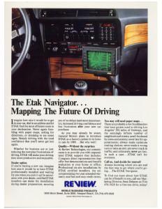 E-Tak Navigation Article Page 1