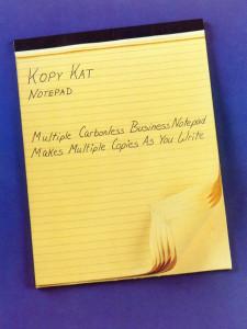Kopy Kat Notepad